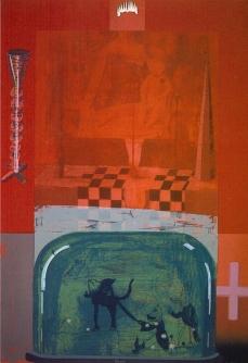 Francesca - Screenprint 107cm x 76cm